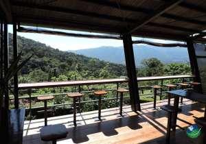 Celeste Mountain Lodge Balcony