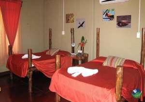 Cerro Lodge Tarcoles Two Bed Bedroom