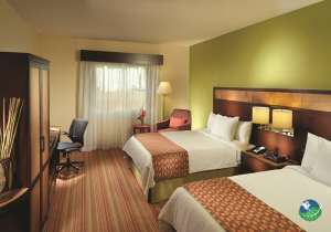 Courtyard Marriott Alajuela Two Bed Bedroom