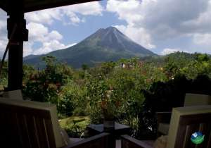 Hotel Arenal Springs View From Balkony