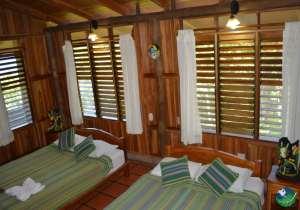 La Cusinga Lodge Double Bedroom
