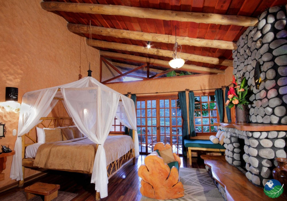 Peace Lodge Costa Rica Bedroom