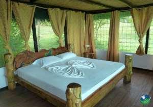 Punta Marenco Lodge Bedroom