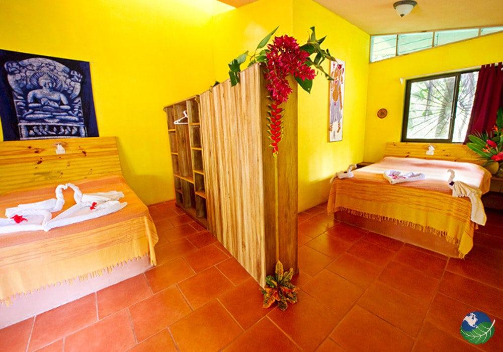 The Goddess Garden Cahuita Bedroom