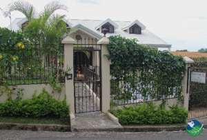 Front gate, Casa Isabella