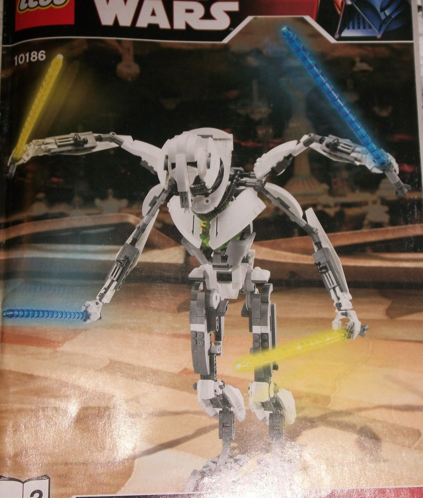 Star Wars LEGO General Grievous 10186