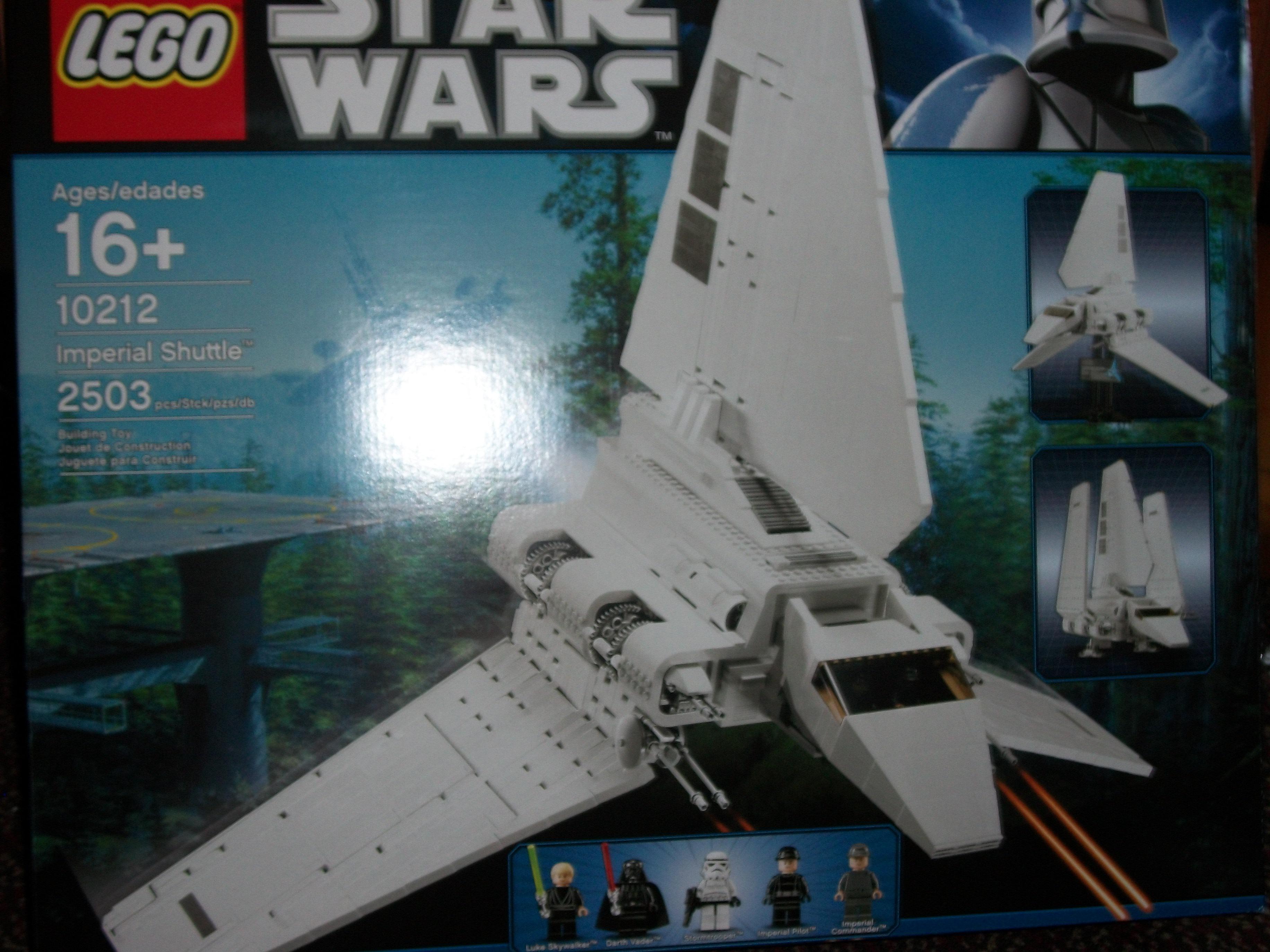 Star Wars LEGO Imperial Shuttle 10212