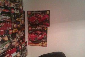 LEGO set box tops