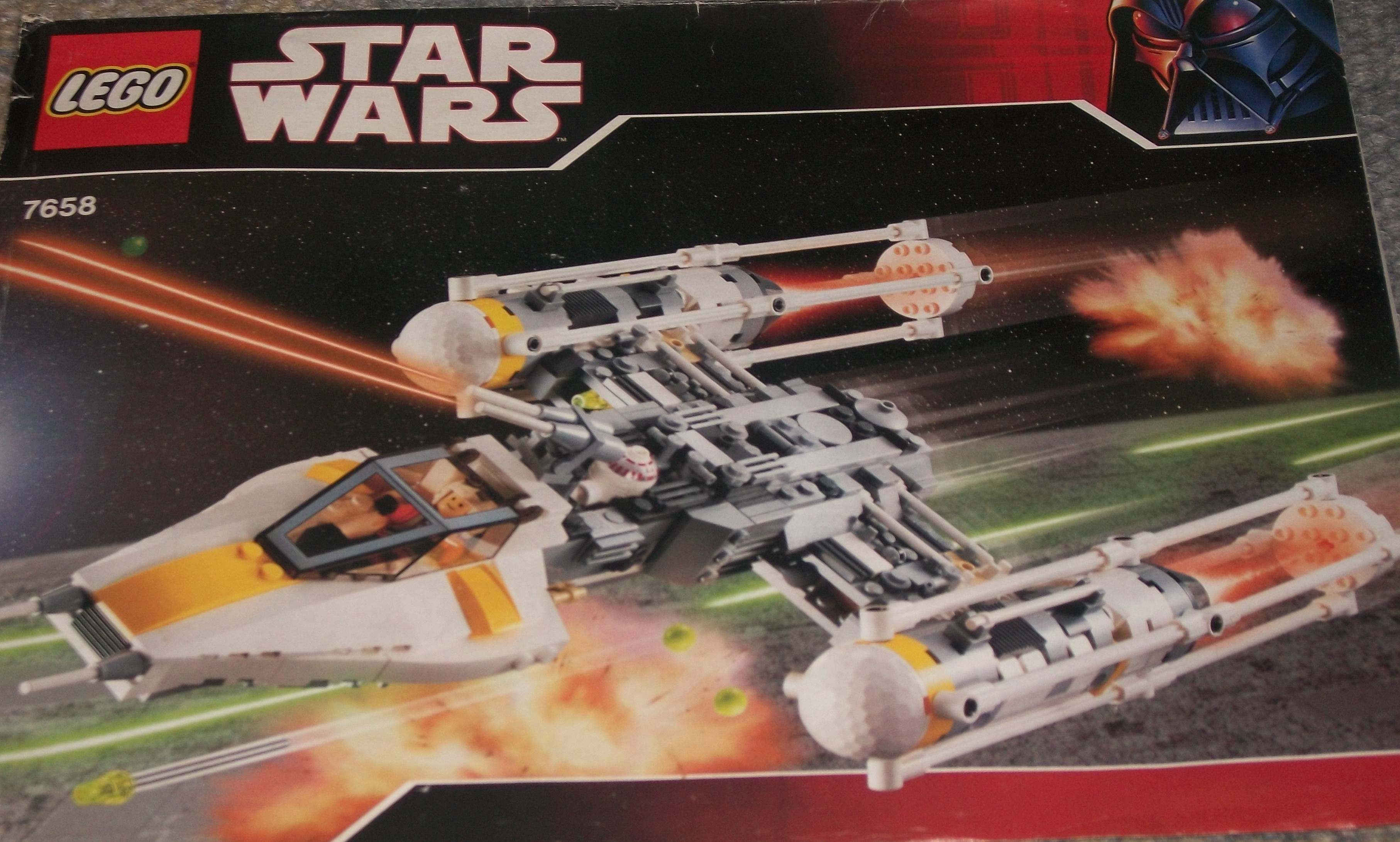 Star Wars LEGO real time build set 7658