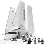 Star Wars LEGO real time build set 10212