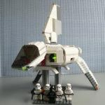 Star Wars LEGO real time build set 7659