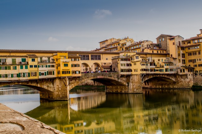 Close-up of Ponte-Vecchio
