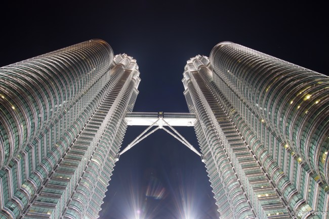 Petronas Towers and SkyBridge