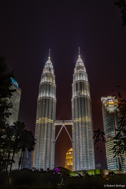 Petronas Towers from the distance