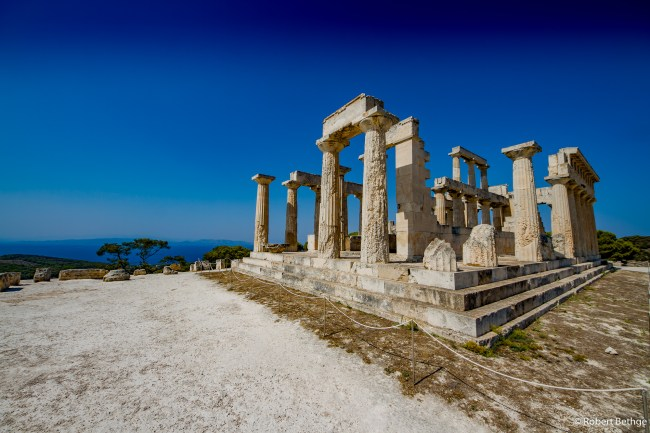Who stole Akropolis and dropped it off here?? No, this is the Temple of Aphaia