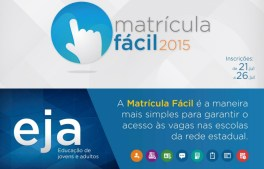 Matricula Fácil RJ 2015 - Site, Eja 01