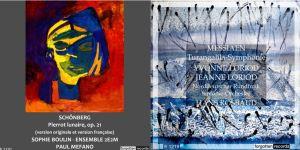 Schoenberg - Messiaen - Forgotten records