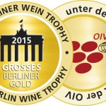Medaille BerlinWeinTrophy 2015 GrossesGold