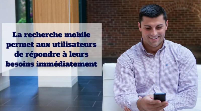 La recherche mobile au Canada
