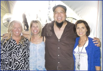 McCartney concert with Abe Laboriel Jr. Suzanne Baker and sister Sherri