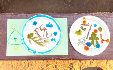 Day Two: Camping artwork