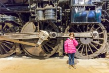 An afternoon at the California State Railroad Museum