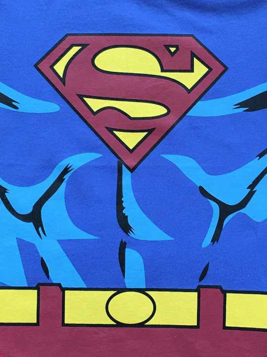 Vamers Store - Apparel - Baby Clothing - Superman Suit Baby Romper - Close-Up