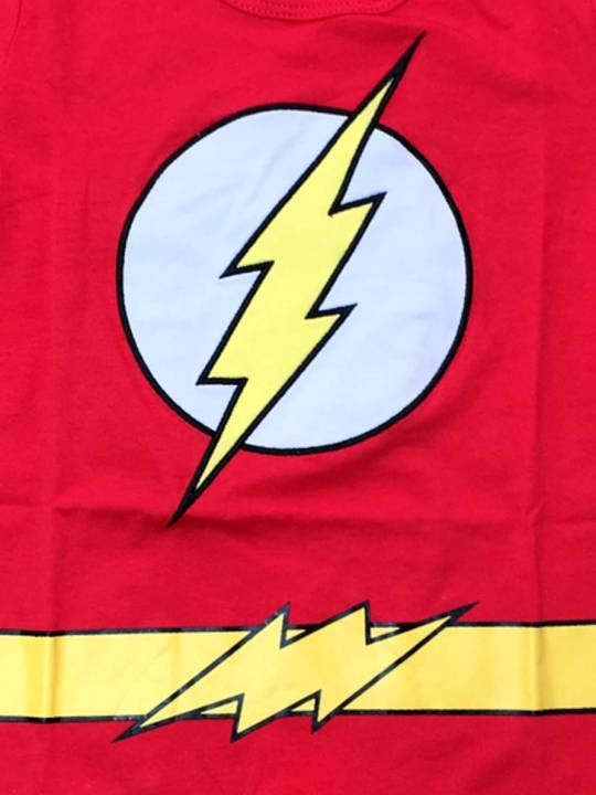 Vamers Store - Apparel - Baby Clothing - The Flash Suit Baby Grow Romper - Main