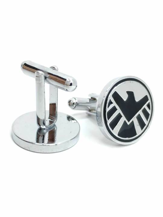 Vamers Store - Merchandise - Geek Chic - Accessories - Cufflinks - S.H.I.E.L.D. Logo Cufflinks inspired by Marvel's Agents of S.H.I.E.L.D. - 03