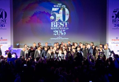 A cerimônia do  The World's 50 Best Restaurants 2015 - Foto: Divulgação