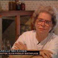 Esta é Janelle McComb, a grande amiga de Elvis