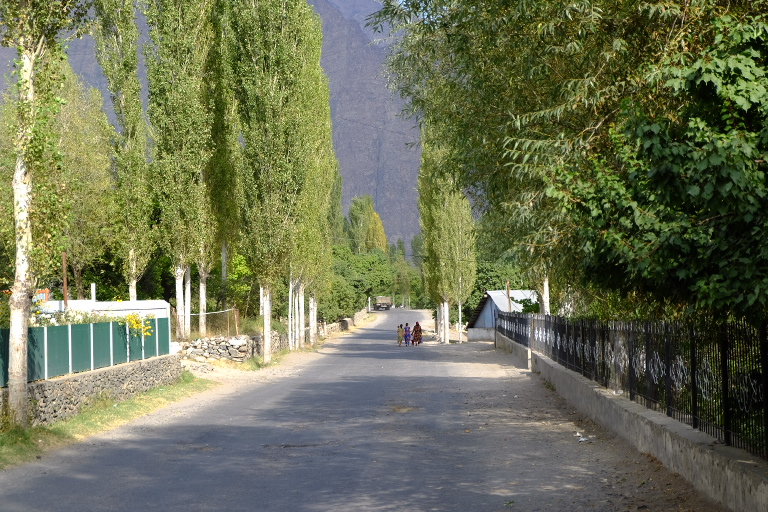 Typische dorpjes met veel aangeplant groen