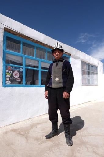 Kirgisische dracht.