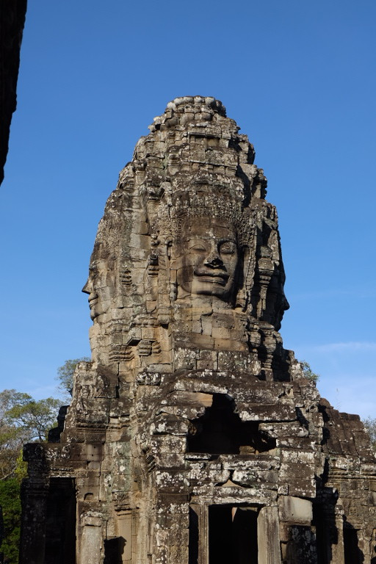 Angkor Thom e de tempel Bayon met 216 stenen gezichten vonden we de mooiste.