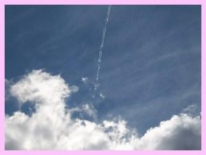 Passo la vita a seguire tracce nel cielo. Bello, ma... quante testate!