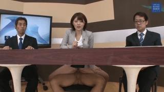 Japa jornalista fodendo em um programa