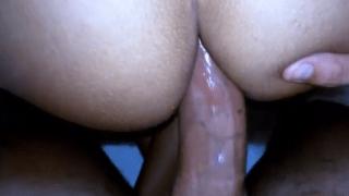 Morena rabuda adora tomar no cu