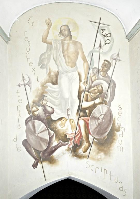 Charles Eyck, Christus' verrijzenis (circa 1933).