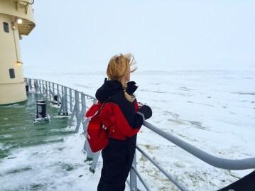 The Sampo Icebreaker, Swimming With Icebergs – Kemi, Finland