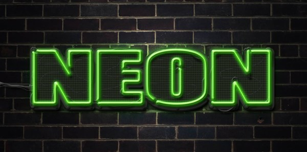 Create a Neon Text Effect in Photoshop