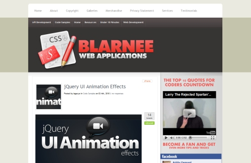 jQuery UI Animation Effects