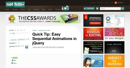 Quick Tip: Easy Sequential Animations in jQuery