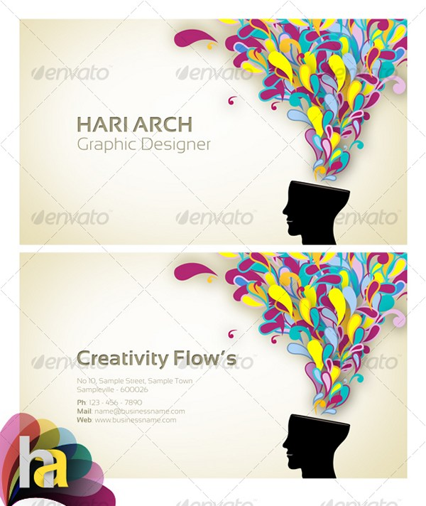 Colorful Business Card 2
