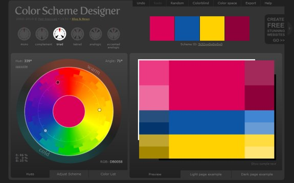 10 Resources for Creating Website Color Schemes