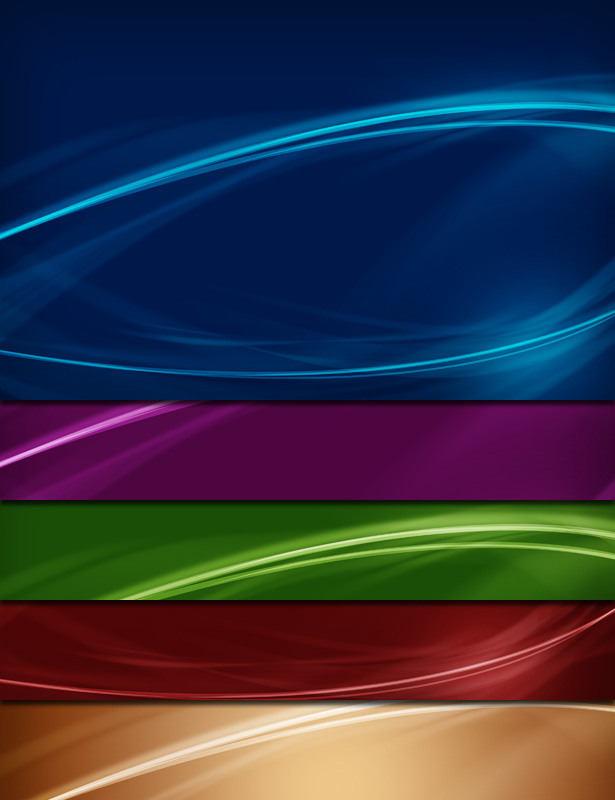 Colorful Abstract Backgrounds - Vol. 2