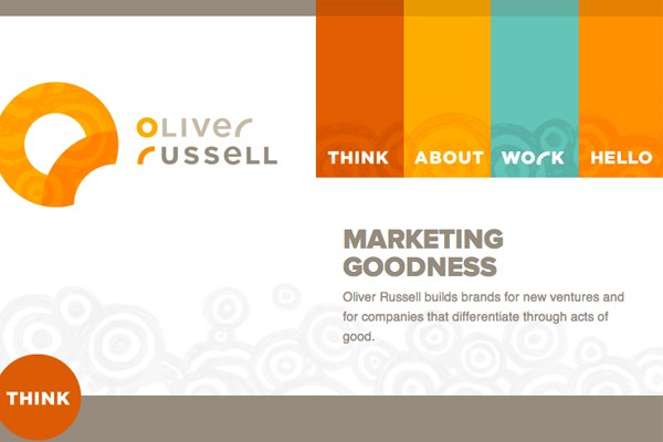 oliver russell website portfolio inspiration navigation