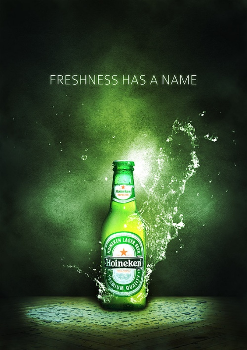 Create a Refreshing Beer Themed Poster Design in Photoshop