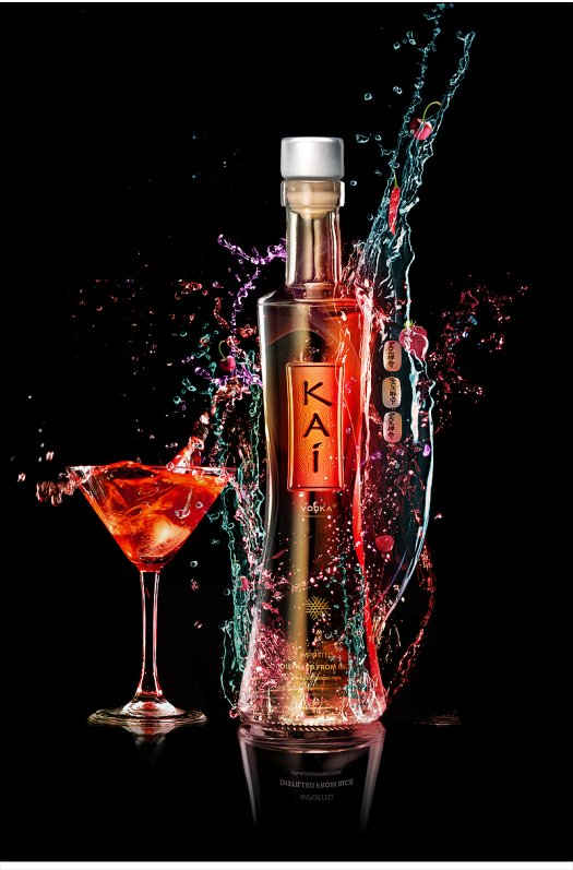 Create a Vibrant Colorful Alcohol Product Ad in Photoshop