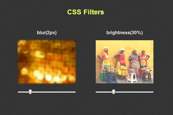 Visual Effects with CSS3 Filters