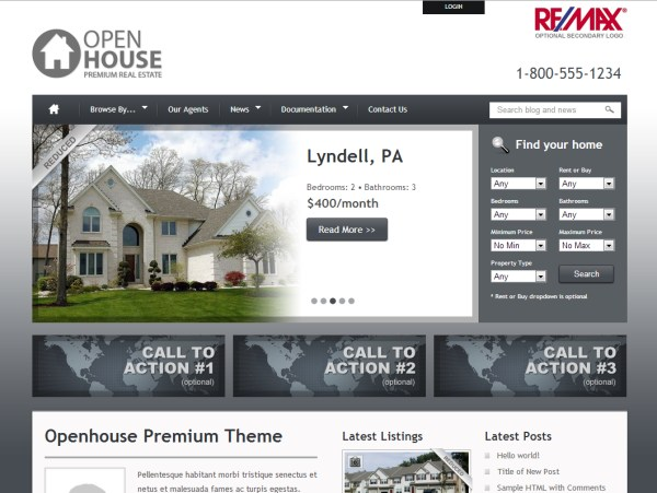 Open House Real Estate